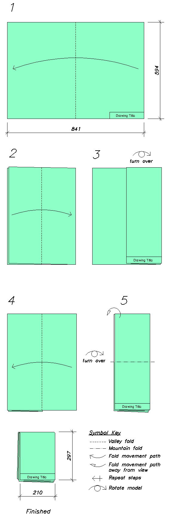 Structural drafter for Architectural drawing paper sizes